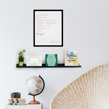 4 Ideas for Wall Art When You Have No Photos
